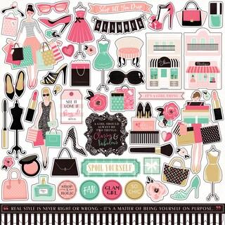 "Fashionista Cardstock Stickers 12""X12"""