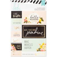 "Heidi Swapp Memory Planner Stickers 4""X6"" 2/Pkg"