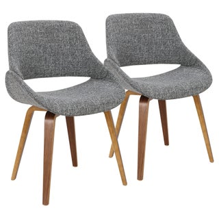 Fabrico Mid-Century Modern Cross Frame Bent Wood Chair (Set of 2) (2 options available)