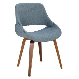 Fabrico Mid-Century Modern Cross Frame Bent Wood Chair (Set of 2)