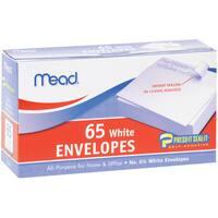 """Mead Boxed Peel & Stick Envelopes 3.625""""X6.5"""" 65/Pkg"""