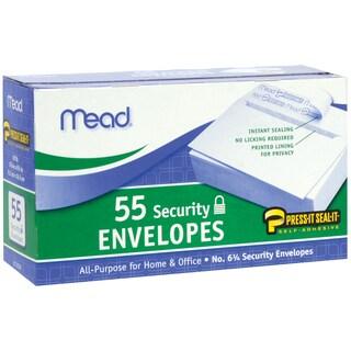 """Mead Boxed Peel & Stick Envelopes 3.625""""X6.5"""" 55/Pkg"""