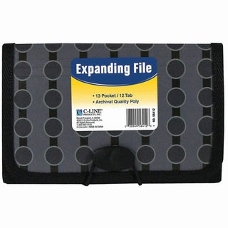 13-Pocket Coupon Expanding File