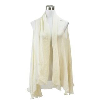Le Nom Spring and Summer Chiffon Vest (Option: Beige)