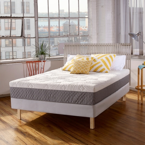 Shop Dreamaway Kenton 10 Inch Queen Size Memory Foam Mattress On