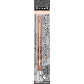 Charcoal White Pencils 2/Pkg