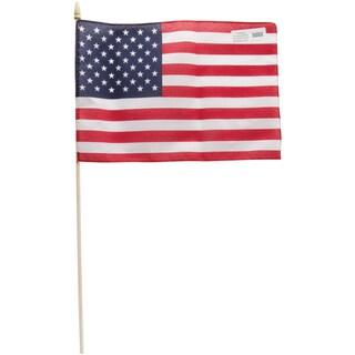 "American Hand Flag (Sewn) 12""X18"""