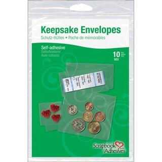 Scrapbook Adhesives Keepsake Envelopes 10/Pkg