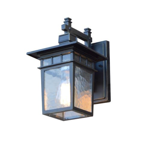 Cullen 1 Light Exterior Lighting in Imperial Black Finish