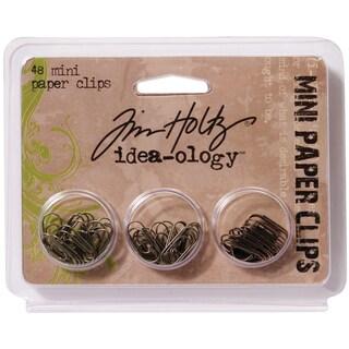 "Idea-Ology Mini Paper Clips .625"" 48/Pkg"