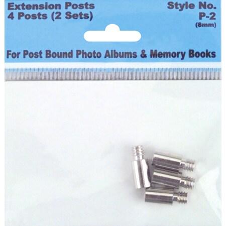 Pioneer Screw Post Extenders 8mm 4/Pkg