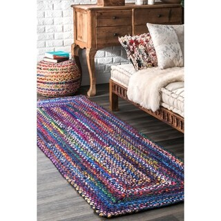 The Curated Nomad Grove Handmade Multicolor Area Runner Rug - 2'6'' x 8'