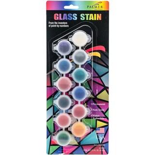 Glass Stain Paint Pots 12/Pkg