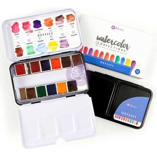 Prima Watercolor Confections Watercolor Pans 12/Pkg