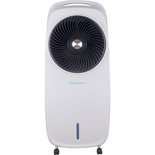 7.5-Liter Indoor Evaporative Air Cooler (Swamp Cooler) in White