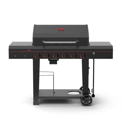 Megamaster Battery Operated 6-Burner Grill