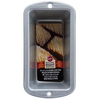 Recipe Right Mini Loaf Pan