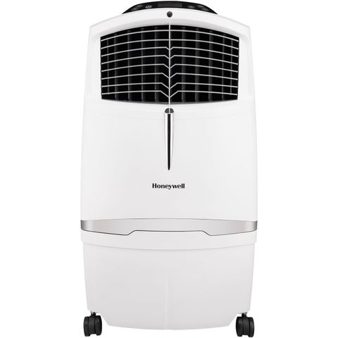 525 CFM Indoor Evaporative Air Cooler (Swamp Cooler) with Remote Control in White
