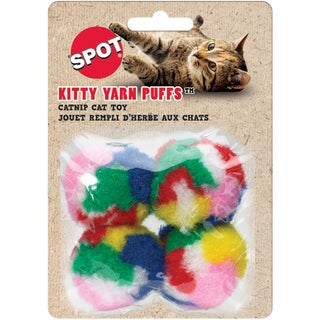 "Kitty Yarn Puffs 1.5"" 4/Pkg"