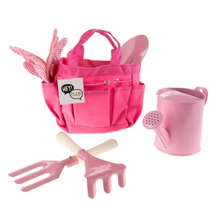 Kids' Gardening Tool Set with Canvas Bag