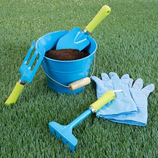 Kids' Garden Tool Set with Bucket