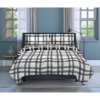 Plaid 3-piece Comforter Set