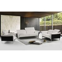 Best Master Furniture Black/ White 3 Pieces Set