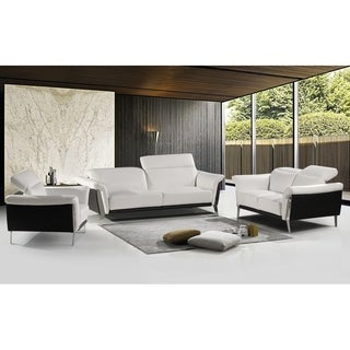 Best Master Furniture Black/ White 3 Pieces Set