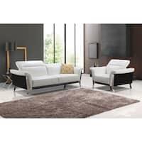 Best Master Furniture Black/ White 2 Pieces Set