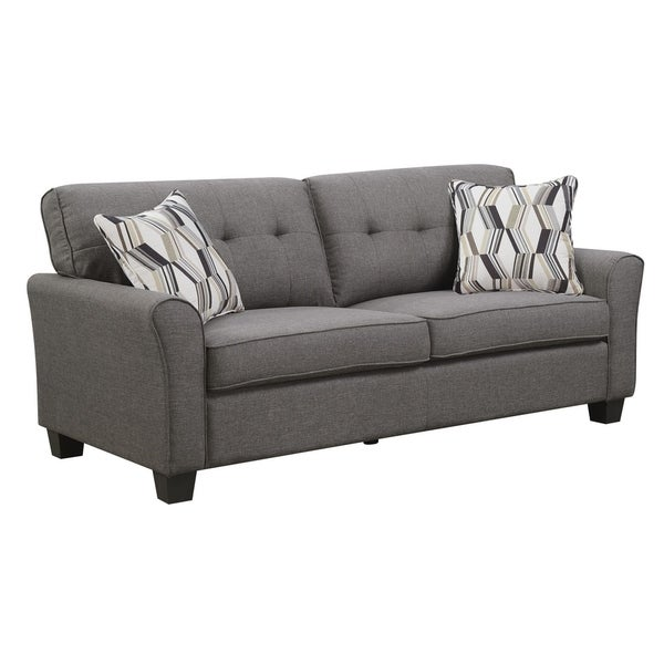 Shop Emerald Home Clarkson Charcoal Brown 80 Sleeper Sofa With