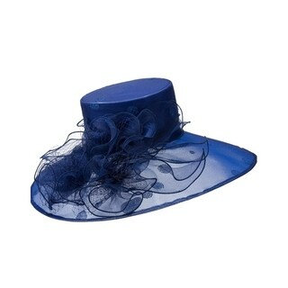 Giovanna Signature Women's Big Dot Patterned Organza Hat