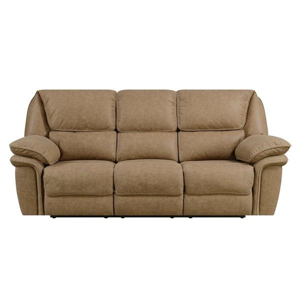 Shop Emerald Home Allyn Desert Sand Power Reclining Sofa