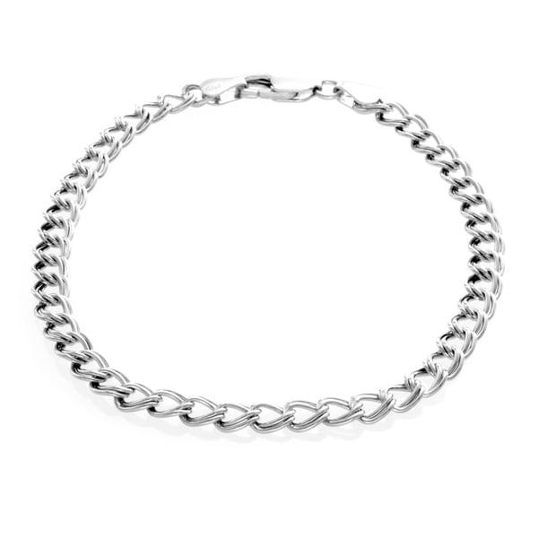 Sterling Silver 7-inch Charm Bracelet
