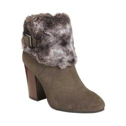 Women's Aerosoles North Square Ankle Boot Taupe Suede/Faux Fur