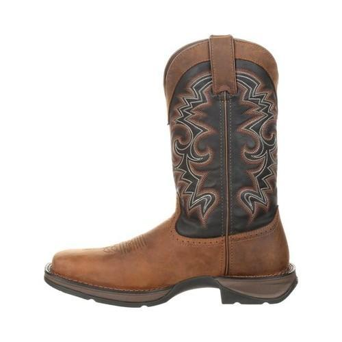Men's Durango Boot DDB0135 Rebel 12in Pull-On Western Boot Chocolate/Midnight  Full Grain Leather/Synthetic - Free Shipping Today - Overstock.com -  24182975