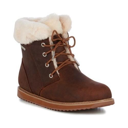 EMU Shoreline Leather Lo Waterproof Boot (Women's) 30Am7ok