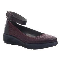 Women's OTBT Scamper Flat Burgundy Leather