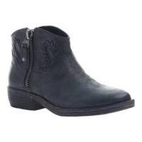 Women's OTBT Trek Bootie Black Leather