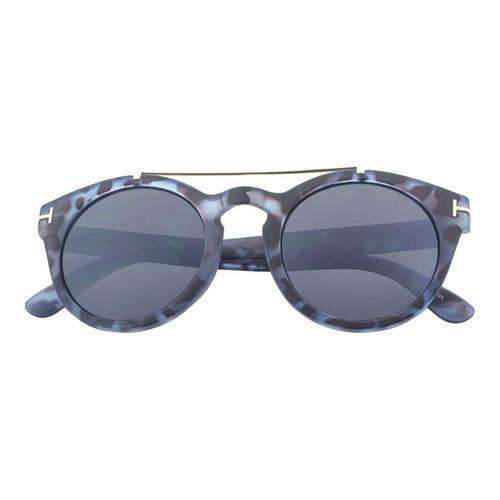 Shop SWG Dapper Crossbar Thick Frame Sunglasses SWGNGSA61 Blue ...