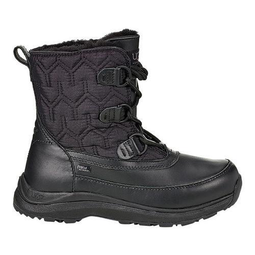 40ff375f9a9 Women's UGG Lachlan Winter Boot Black Leather/Nylon