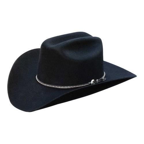 1df558cca5a Shop Silverado Bart Cowboy Hat Black Wool - On Sale - Free Shipping Today -  Overstock - 18020540