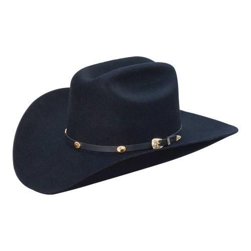 9b413351ec0 Shop Silverado Colt Cowboy Hat Black Wool - On Sale - Free Shipping Today -  Overstock.com - 18020547
