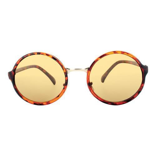 fb7c22ace9336 Shop Men s SWG Sleek Retro Round Frame Sunglasses SWGFTP9737 Leopard - Free  Shipping On Orders Over  45 - Overstock - 18021017