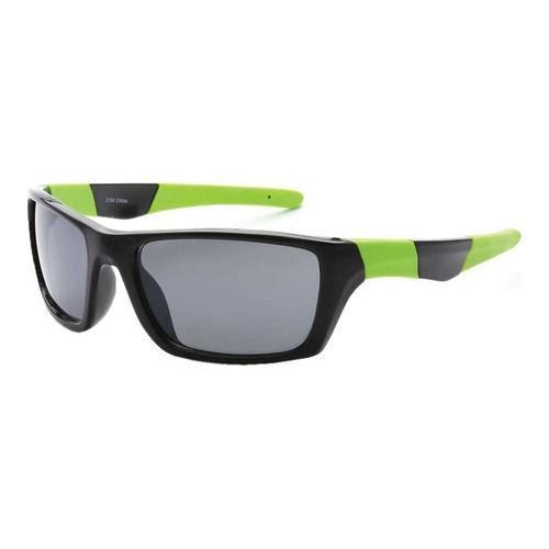 Shop Men\'s SWG Sports Full Square Framed Sunglasses SWGTU2134 Black ...