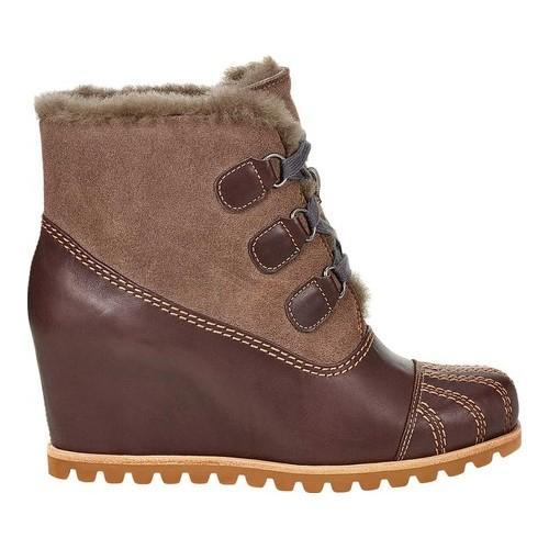 3f34e285382 Women's UGG Alasdair Wedge Bootie Slate Leather/Suede