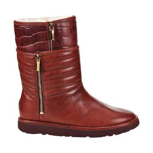 92a219f059b Women's UGG Aviva Mid Calf Boot Stout Leather