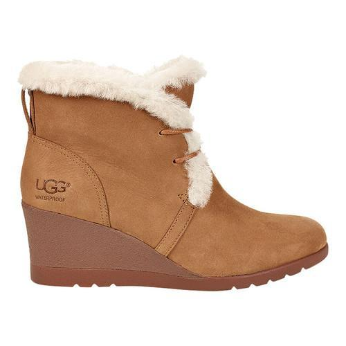 d9ce98dfbcc Women's UGG Jeovana Wedge Ankle Boot Chestnut Suede