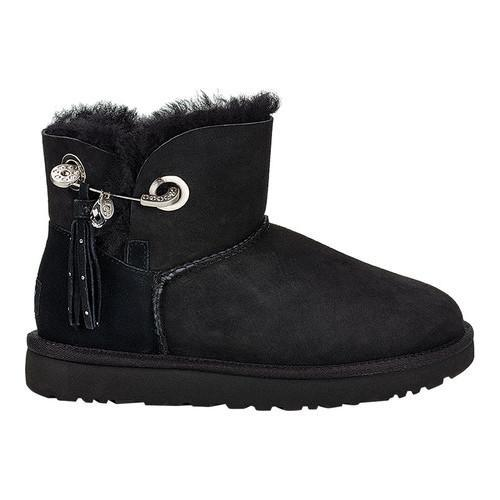 0ed71053b83 Shop Women's UGG Josey Bootie Black Twinface - Free Shipping Today ...