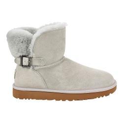 7cf7c926d3f Women's UGG Karel Bootie Grey Violet Suede | Overstock.com Shopping - The  Best Deals on Boots