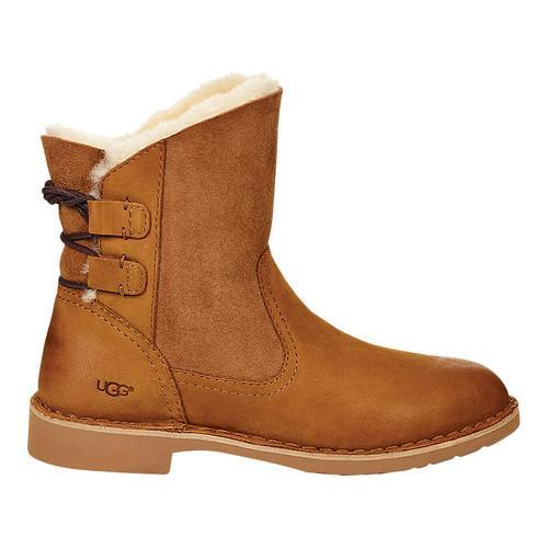 98baccb4cc9 Women's UGG Naiyah Bootie Chestnut Nubuck/Twinface